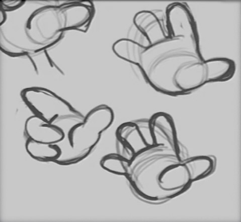 How to Draw Cartoon Hands